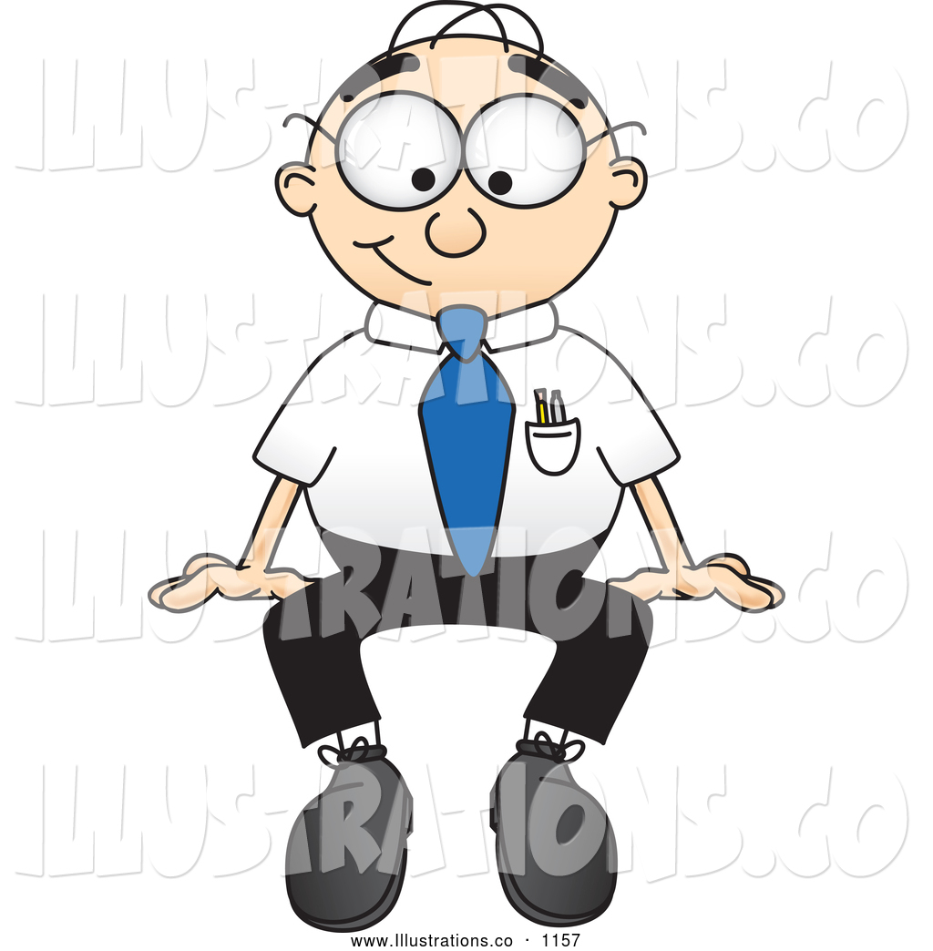 Larger Preview: Royalty Free Stock Illustration of a Friendly Male