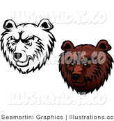 Bears - Royalty Free Stock Illustration by Vector Tradition SM