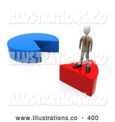 November 11th, 2013: Royalty Free Stock Illustration of a Bright Colorful Pie Chart by 3poD