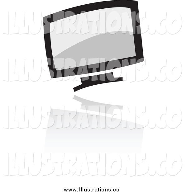 Royalty Free Stock Illustration of a Computer Icon